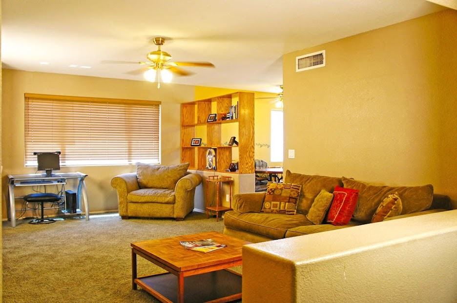 Living room view: Selling my home in Surprise AZ