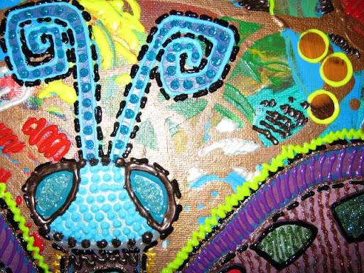 Atelier Spin In - schilderij vlinder acryl en 3D verf 004.jpg