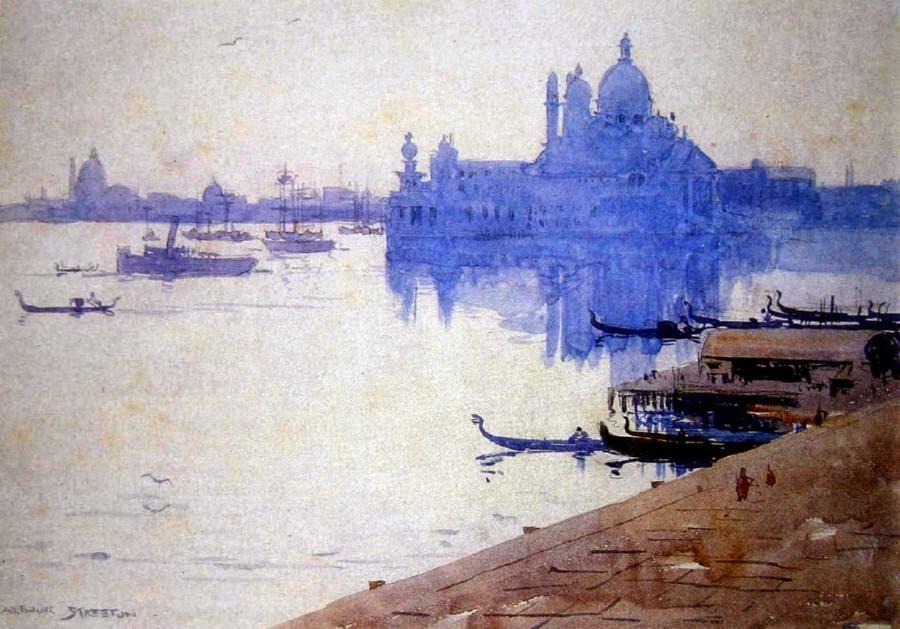 Arthur Streeton - Venice