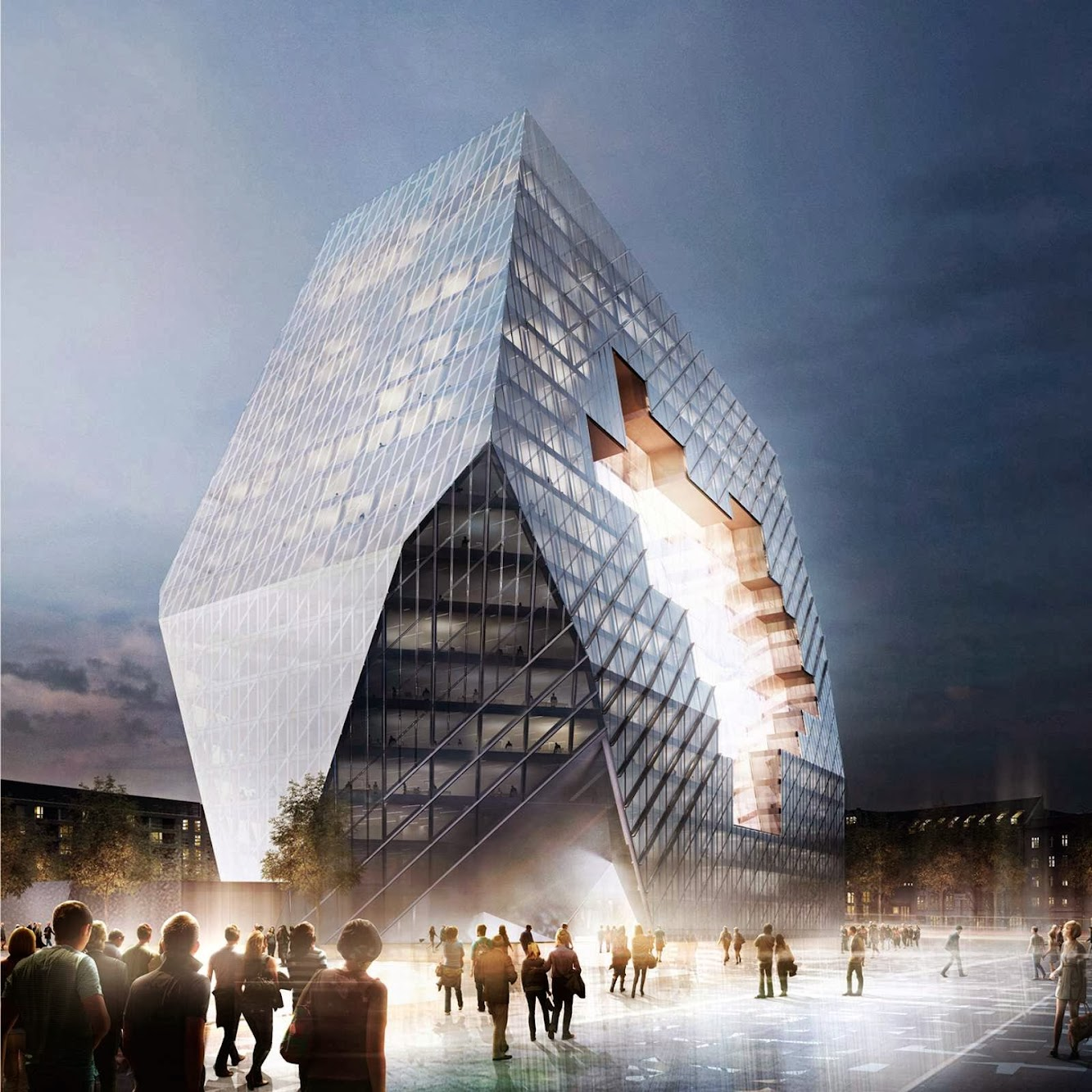Berlino, Germania: Ole Scheeren Among the Winners of the New Media Campus For Axel Springer