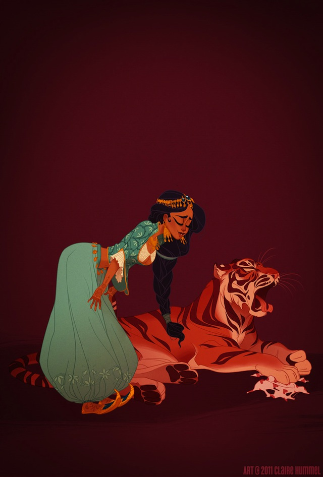 Historical Disney Princesses