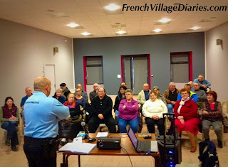 French Village Diaries social council France