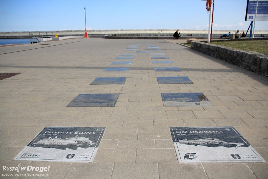 Aleja Statków Pasażerskich Odwiedzających Gdynię