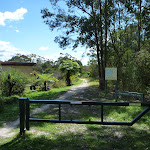 Locked gate at the north end of Nerang Ave Terrey Hills. (305690)