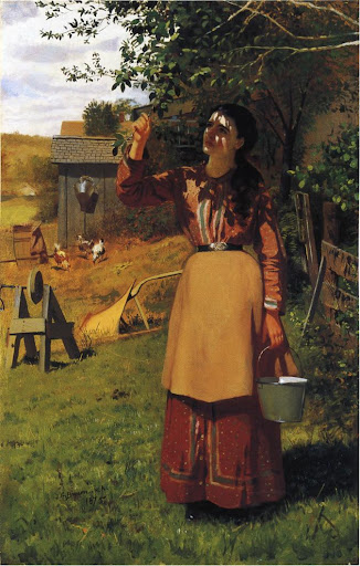 John George Brown - The Cherry Picker