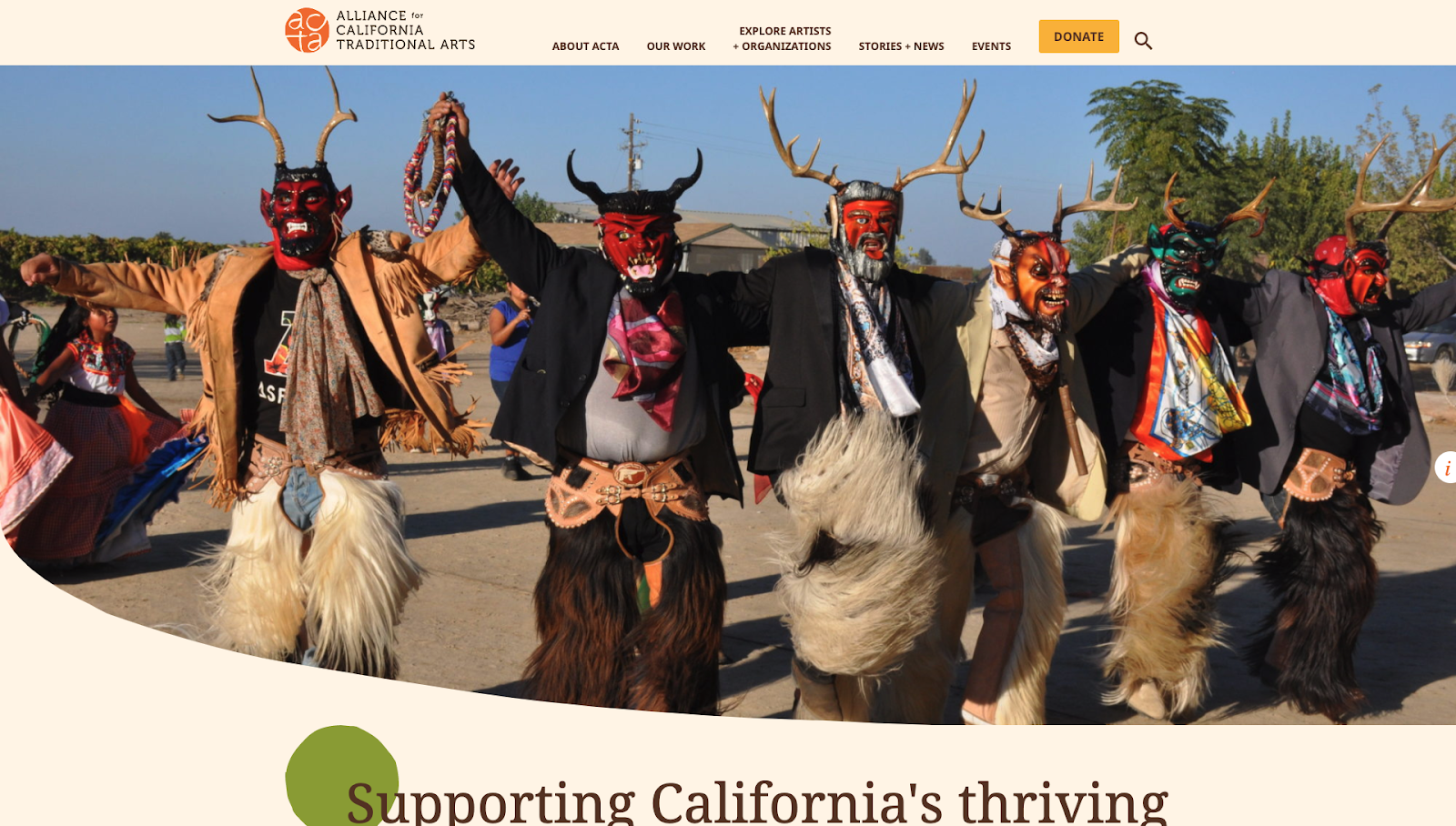 Alliance for California Traditional Arts