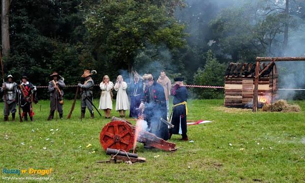 Inscenizacja historyczna najazdu Szwedów na Pelplin