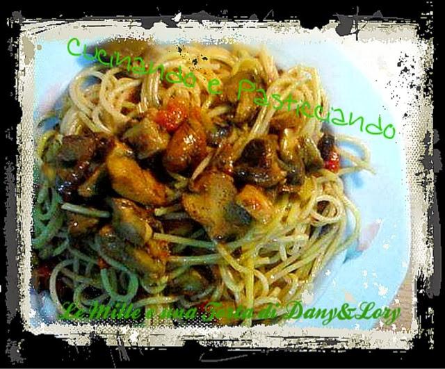 spaghetti ai funghi porcini