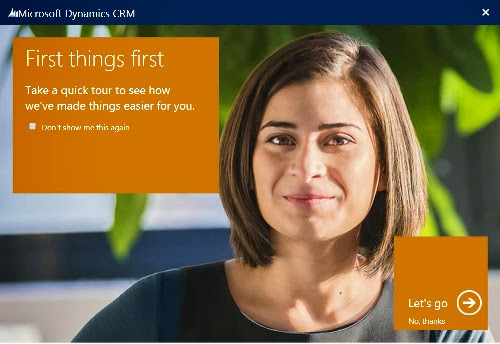 James OConnor Dynamics CRM & Portal Blog » MS CRM 2013 Disable Welcome Screen