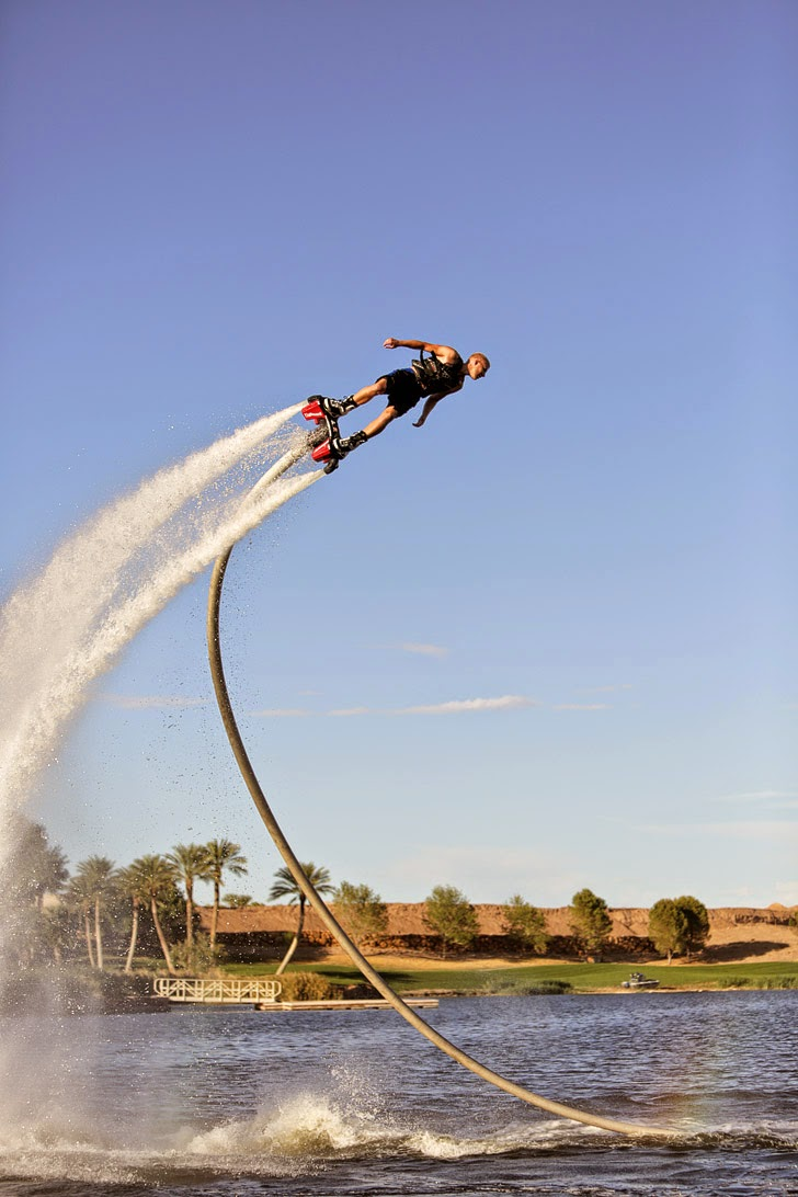 Flyboard Las Vegas // Best things to do in Las Vegas.