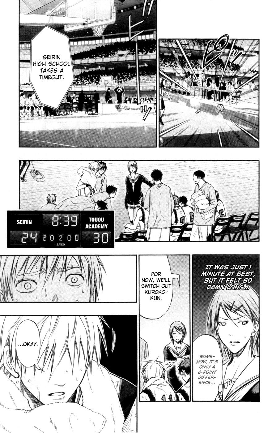 Kuroko no Basket Manga Chapter 120 - Image 15
