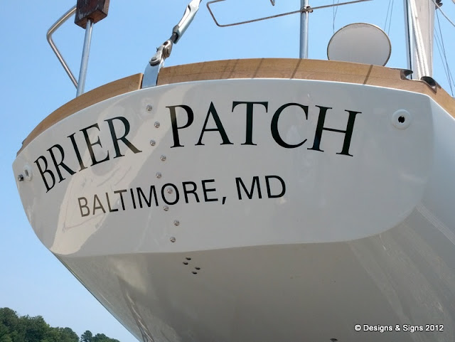 boat name - brier patch