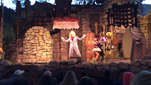 Universal Studios Florida's new Beetlejuice show video February 8.