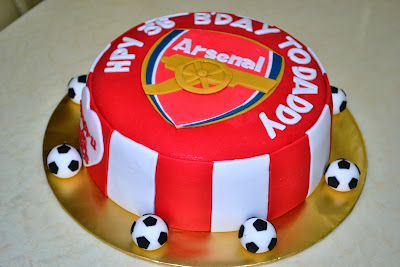 MyPu3 Cake House Arsenal Theme Cake