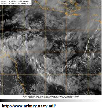 4th march 2014 coral sea low