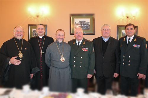 У Львові в день Збройних Сил України військові взяли участь у спільній молитві