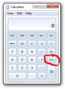 The Only Tool You Need To Use Monetary Market Is Calculator On Your Computer And Specially 1 X Which Simply Divides With Value