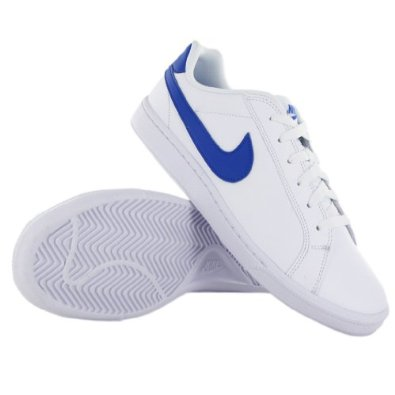 Where to buy Nike Court Majestic White Blue Leather Mens Trainers ... 6b5c99964