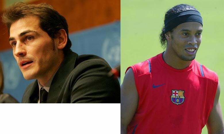 Casillas Ronaldinho