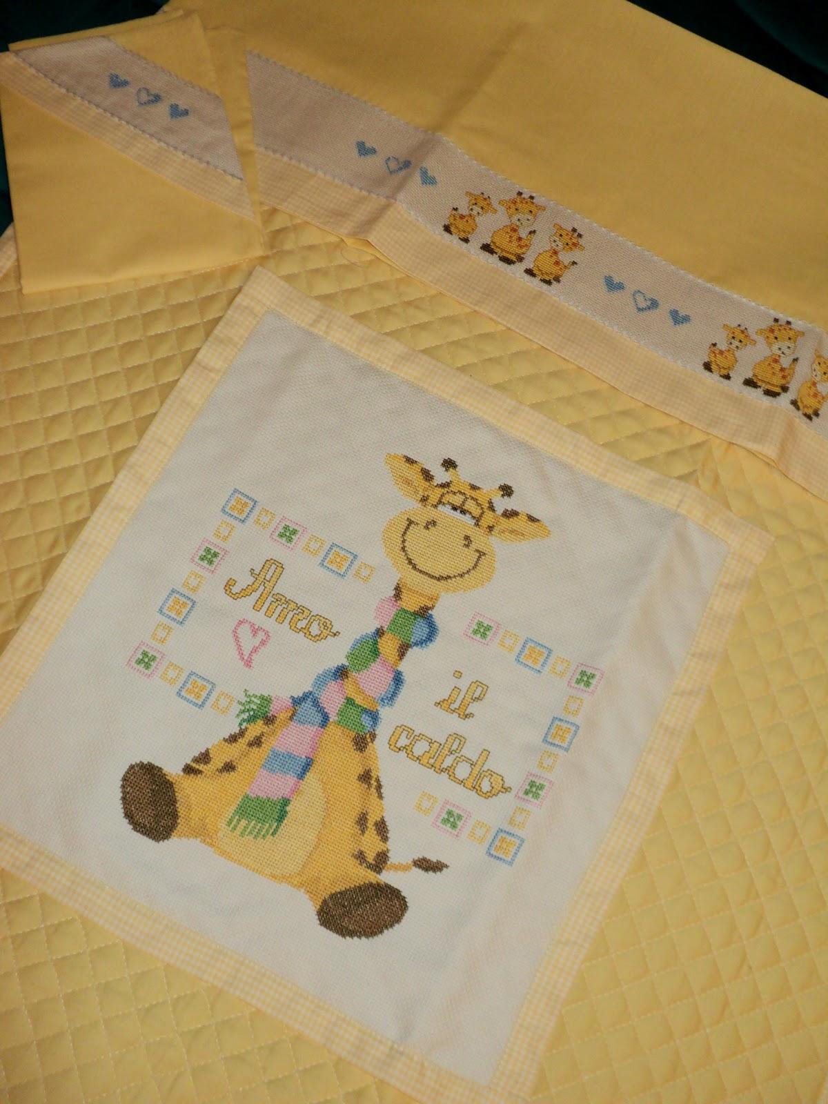 Conosciuto Creando Ricamando: Sacco Baby con Giraffa ET86