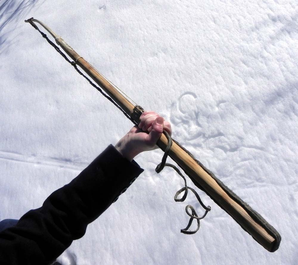 Elfshot: Copper Inuit Harpoon Reproduction