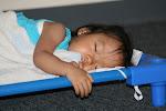 LePort Montessori Preschool Toddler Program Irvine Lake - girl taking a nap
