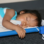 LePort Montessori Preschool Toddler Program Irvine Lake - girl taking a nap