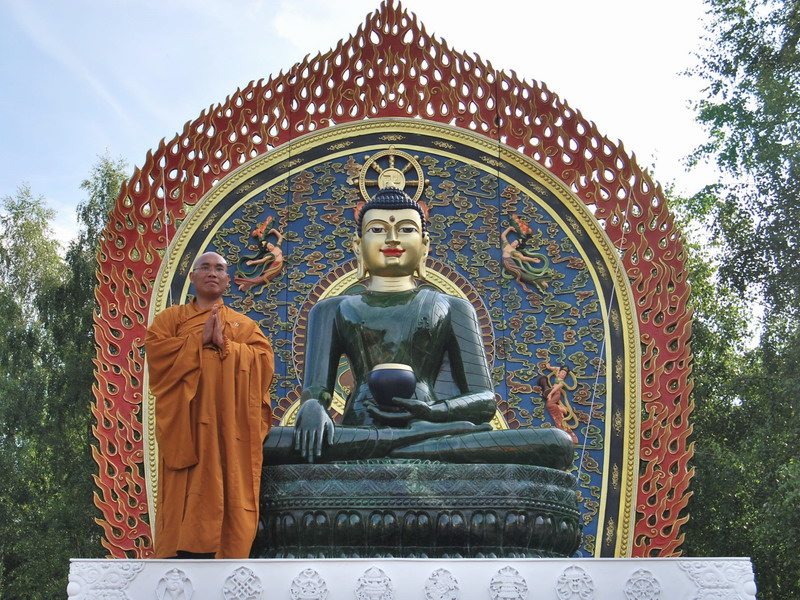 Jade Buddha For Universal Peace