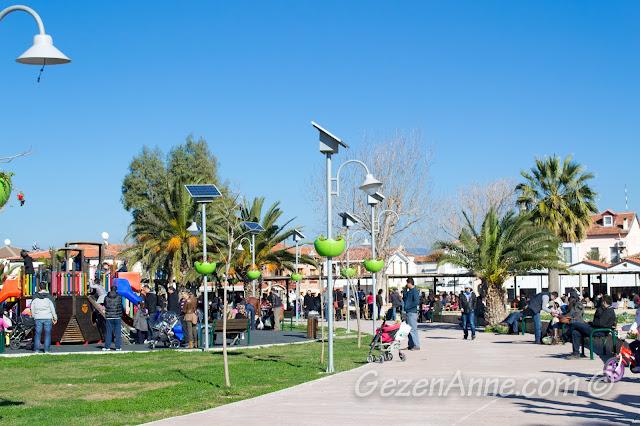 güneş enerjili aydınlatmalı parklar, Sığacık Seferihisar
