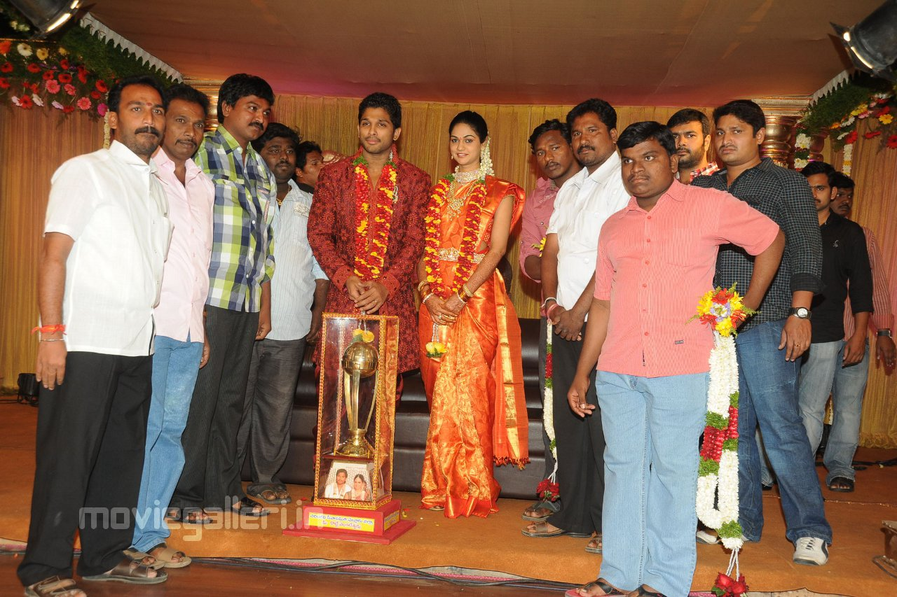 Celebs @ Allu Arjun Sneha Reddy Wedding Reception stills, | New