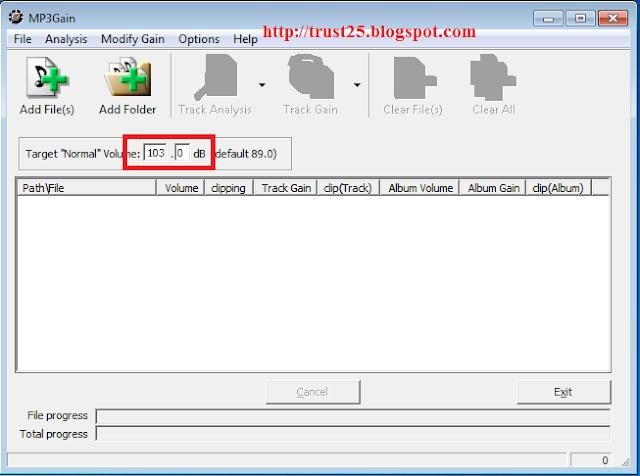 MP3Gain v1.2.5 FULL - phần mềm tăng âm lượng file MP3