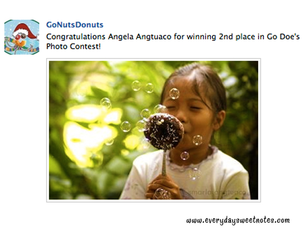 Go Nuts Donuts Photo Contest