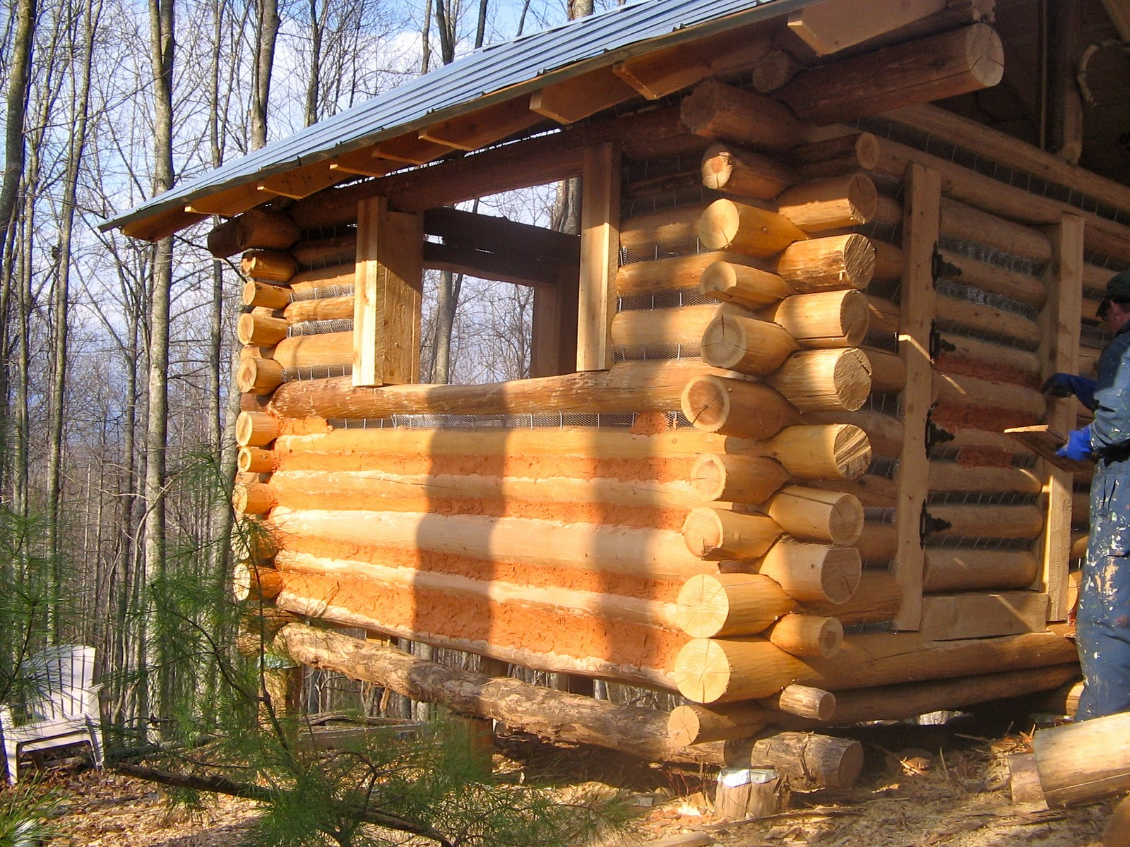 COLD HOLLER: a Postmodern (B)log Cabin in the Land of the Noonday Sun