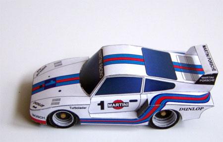 Porsche 935 Papercraft