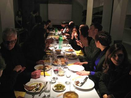 La política de la alimentación, exposición y eventos en Delfina Foundation,Londres