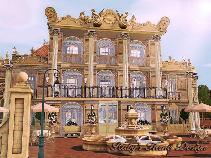 Restaurant Design Sims : Sims versailles french restaurant 凡爾賽法式餐廳 ruby s home