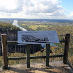 Information sign at Mount Portal Lookout (151326)