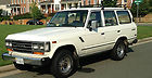 1989 Toyota Land Cruiser Base Sport Utility 4-Door 4.0L