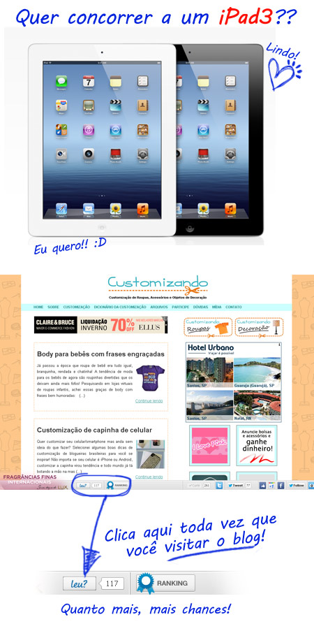 Ganhar iPad3