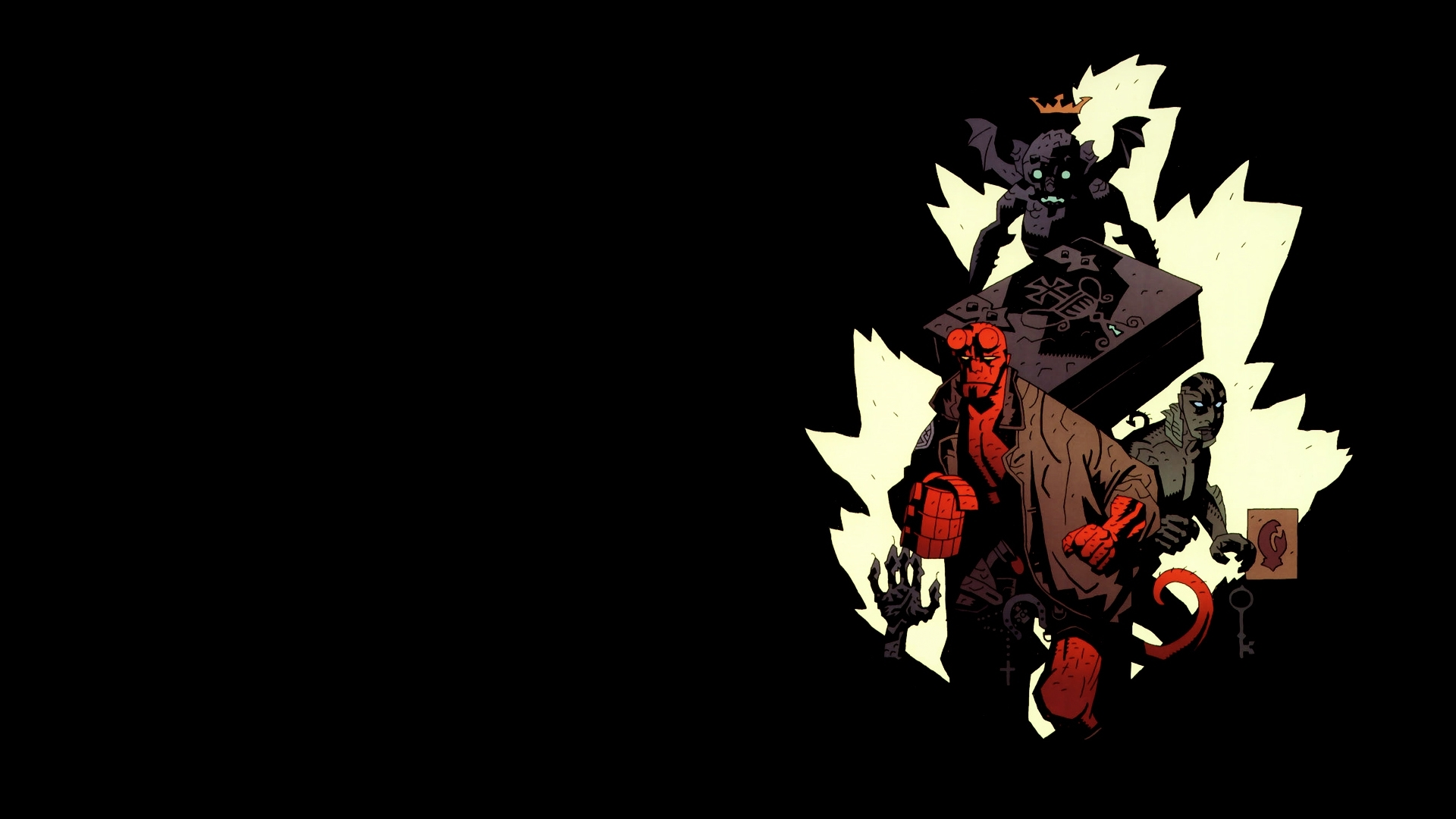 A Huge Thank You To Mike Mignola For The Wonderful Comic Art He Has