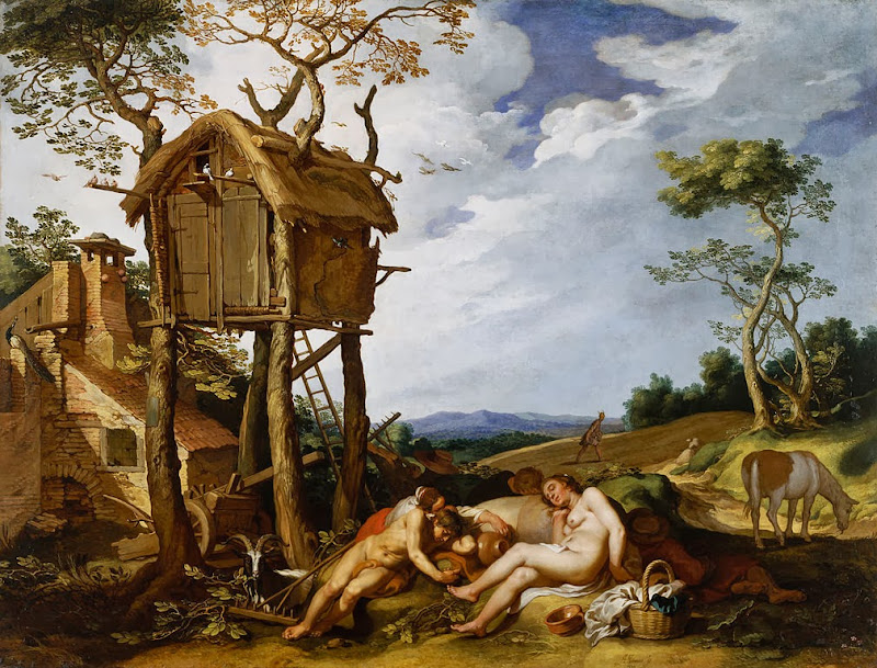 Abraham Bloemaert - Parable of the Wheat and the Tares, 1624