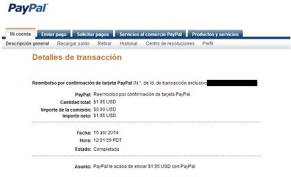 Cómo verificar Paypal en El Salvador