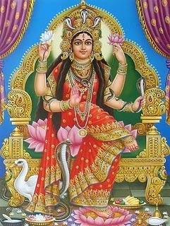 Manasa Hindu Serpent Goddess Image