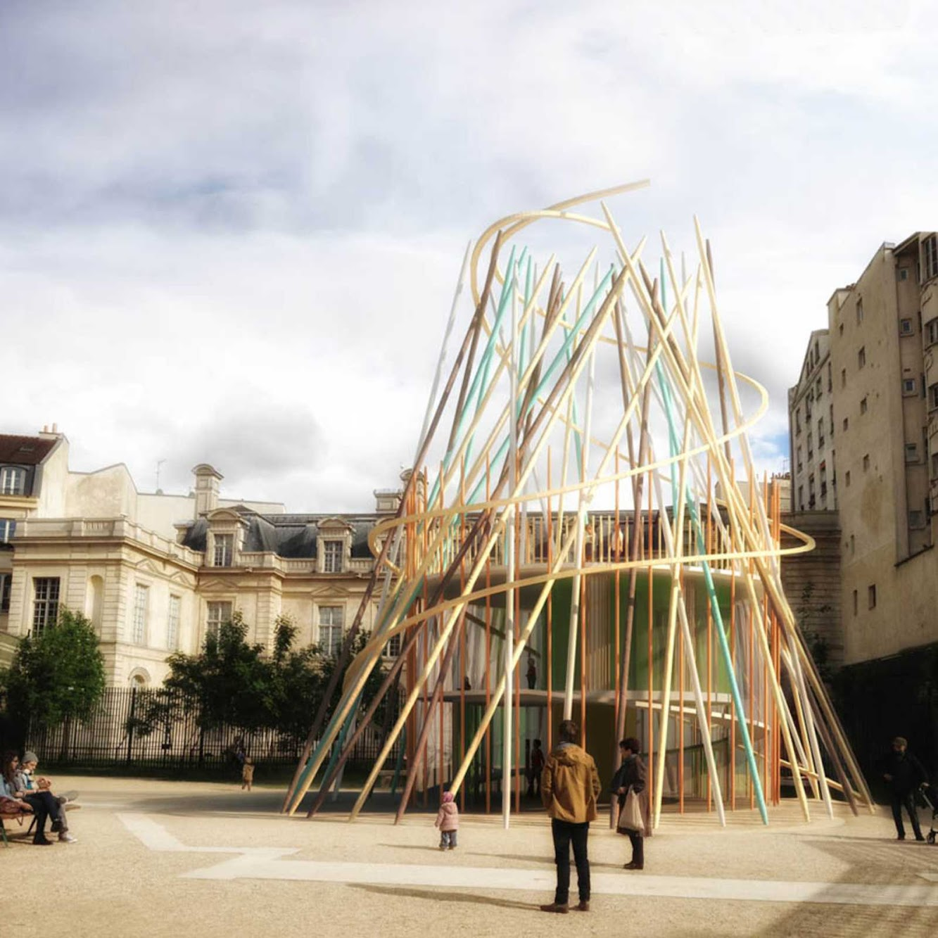 Parigi, Francia: Sticks by Djuric Tardio Architectes