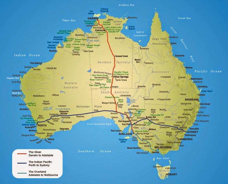 Australia Great Southern Rail