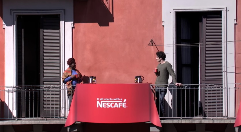 "Nescafe Italia: ""The Next Door Hello"" Experiment via Publicis Italy"