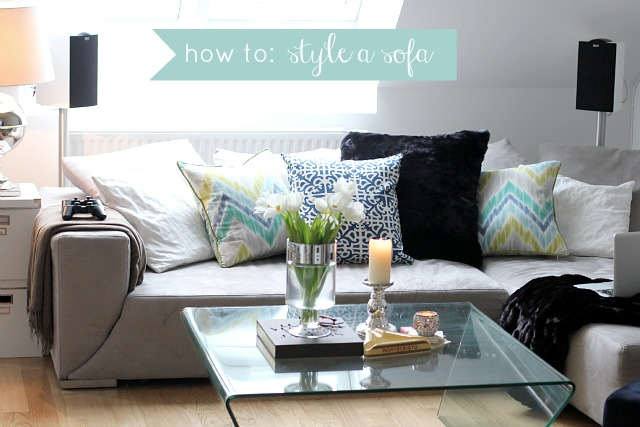How To Style A Sofa