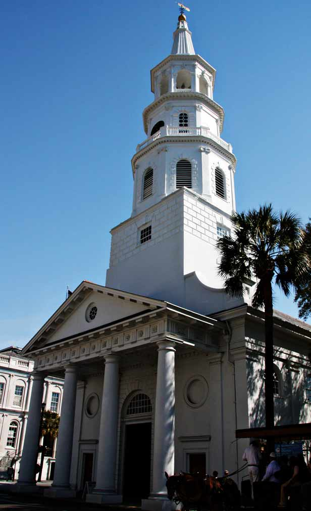 St. Michael's Church in Charleston by SweeterThanSweets