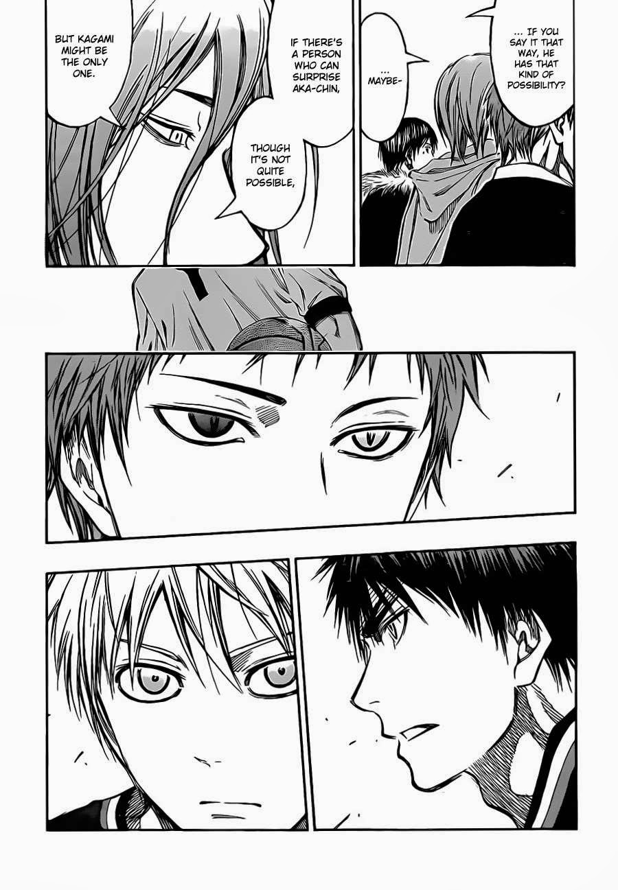 Kuroko no Basket Manga Chapter 232 - Image 04