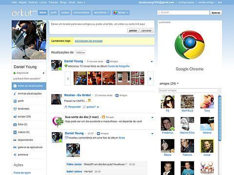 FORME & INFORME: Orkut assume: quer ser o Facebook